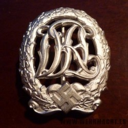 D.R.L. Sports Badge in Silver